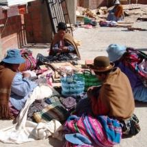 Donne boliviane